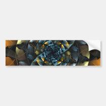 pinwheel, abstract, art, bumper, sticker, Bumper Sticker with custom graphic design