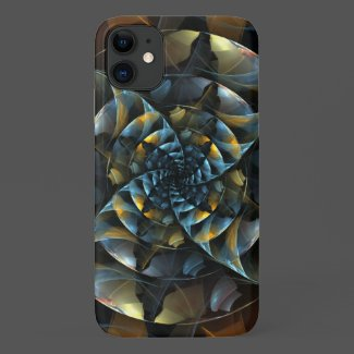 Pinwheel Abstract Art Case-Mate iPhone Case