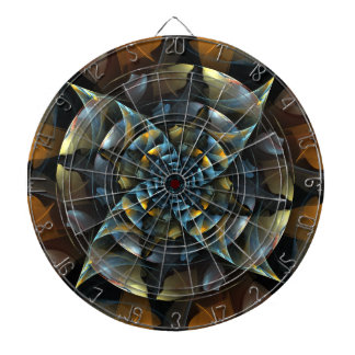 Pinwheel Abstract Art Dart Boards