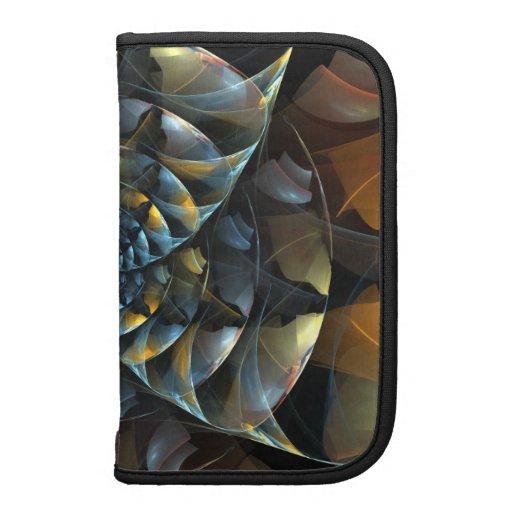 Pinwheel Abstract Art Folio Planner