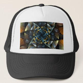 Pinwheel Abstract Art Hat