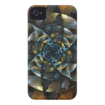Pinwheel Abstract Art iPhone 4 / 4S Case-Mate iPhone 4 Case