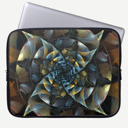 Pinwheel Abstract Art Laptop Sleeve