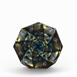 Pinwheel Abstract Art Octagon Award