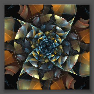 Pinwheel Abstract Art Photo Print
