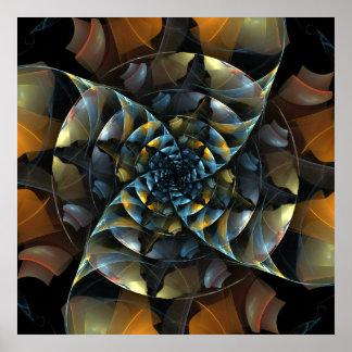 Pinwheel Abstract Art Print
