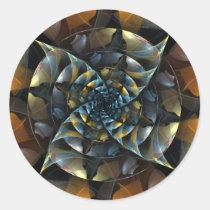 pinwheel, abstract, art, round, sticker, Sticker with custom graphic design