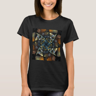 Pinwheel Abstract Art T-Shirt