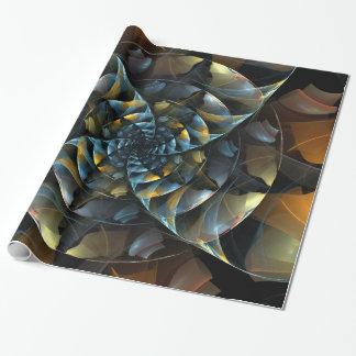 Pinwheel Abstract Art Wrapping Paper