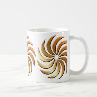 Pinwheel - bronze-mug coffee mug
