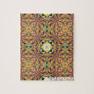 Pinwheel Color Mandala Design#1 Puzzle