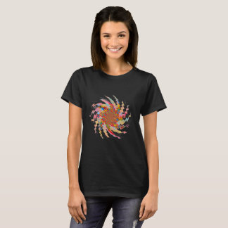 Pinwheel Colourful Happy Star T-Shirt