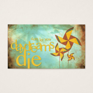 pinwheel daydreams business card