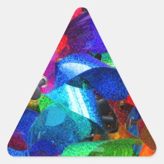 pinwheel Delights Triangle Sticker