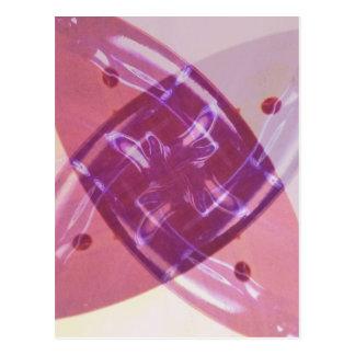 Pinwheel Digital Art Postcard