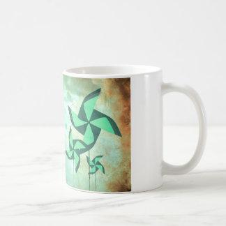 pinwheel dreams coffee mug