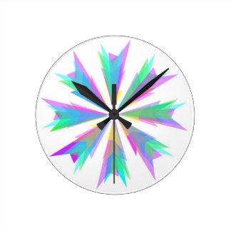 Pinwheel Explosion Clock