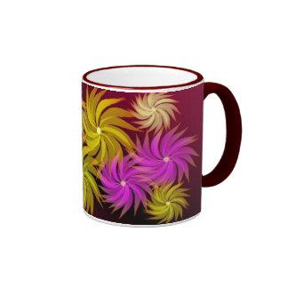 Pinwheel Floral Mug