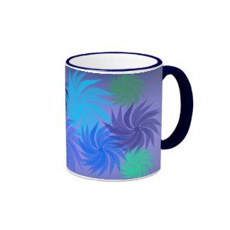 Pinwheel Flower Mug