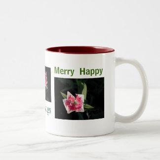 Pinwheel Flower Mugs