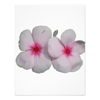 Pinwheel flower pink with natural marks personalized invitations