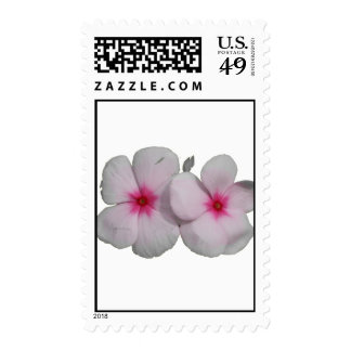 Pinwheel flower pink with natural marks stamps