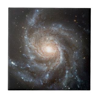 Pinwheel galaxy ceramic tile