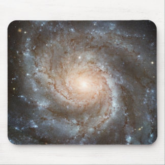 Pinwheel galaxy Hubble Telescope Outer Space Photo Mouse Pad