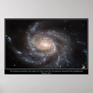 Pinwheel Galaxy Inpirational Poster