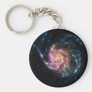 Pinwheel Galaxy Spiral Space Keychains