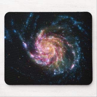 Pinwheel Galaxy Spiral Space Mousepads