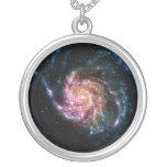 Pinwheel Galaxy Spiral Space Pendant