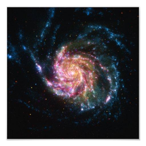 Pinwheel Galaxy Spiral Space Photograph