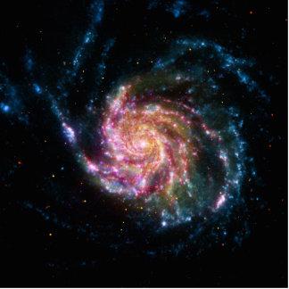 Pinwheel Galaxy Spiral Space Statuette