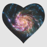 Pinwheel Galaxy Spiral Space Sticker
