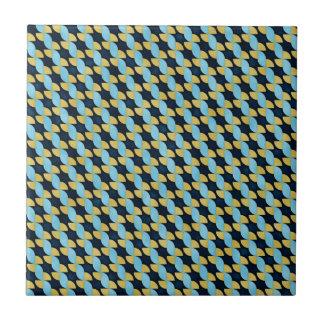 Pinwheel Geo Pattern Ceramic Tile