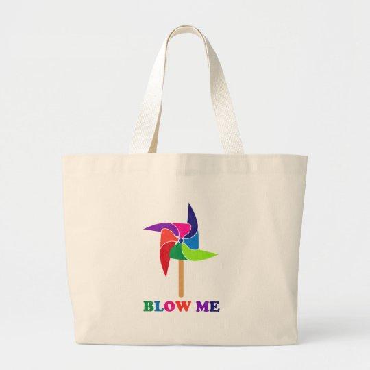 PinWheel Large Tote Bag