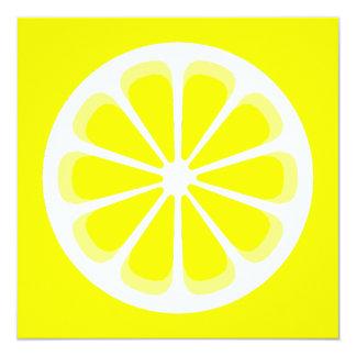 pinwheel lemon invitation