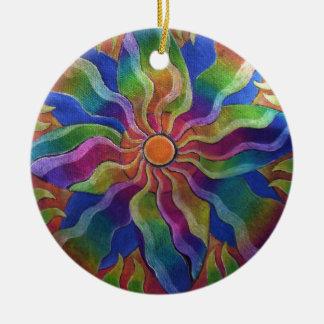 Pinwheel Mandala Ornament