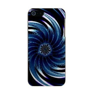 Pinwheel of Blue Metallic Phone Case For iPhone SE/5/5s