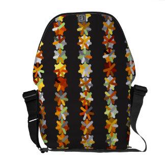 Pinwheel of Color Rickshaw Messenger Bag