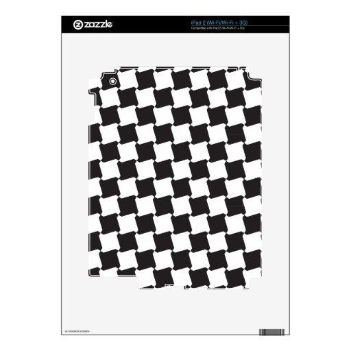 Pinwheel Pattern iPad 2 Skin