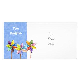 Pinwheel Photo Card