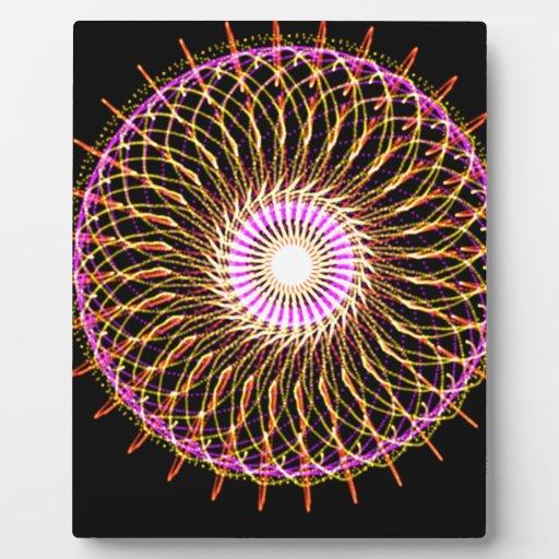 Pinwheel Photo Plaque