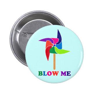 PinWheel Pinback Button