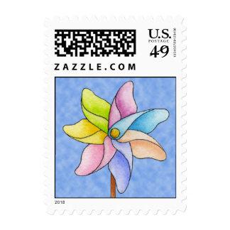 Pinwheel Postage