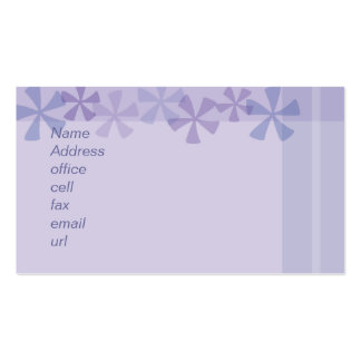 pinwheel purple business card templates