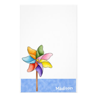 Pinwheel Stationery