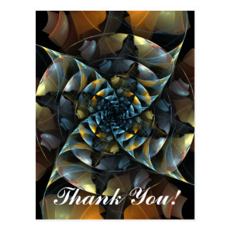 Pinwheel Thank You Postcard