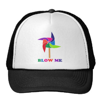 PinWheel Trucker Hat